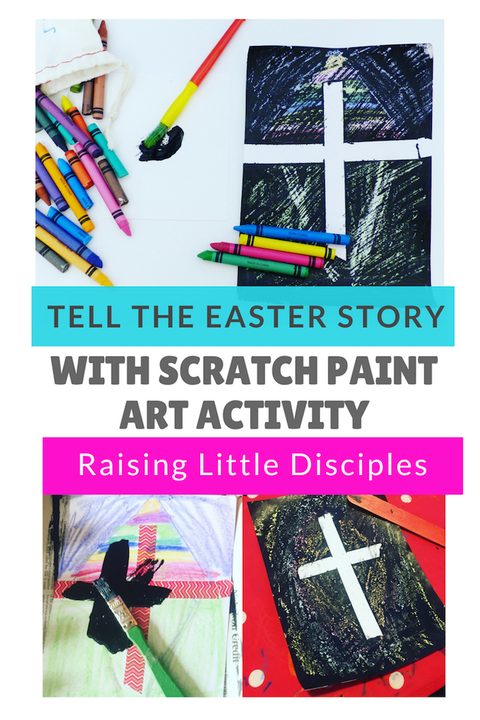 Scratch Paint Easter Story