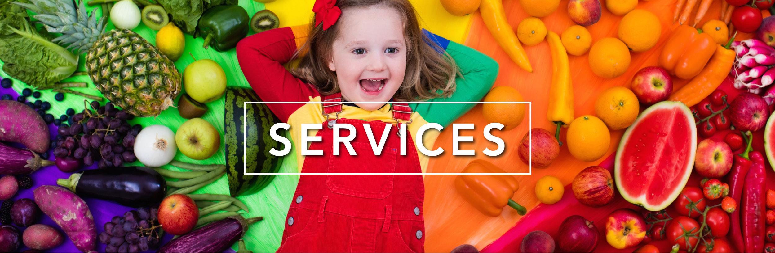 Paediatric Dietetics services