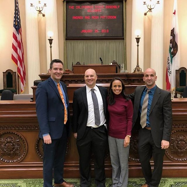 The leadership team from the Autism Business Association was working hard in the Sacramento to advocate for quality care and access to services. A big thank you to Robert Haupt, Dr. Gina Chang, Jared Freilich, Dr. Rosa Patterson, and Andrew Patterson for making the trip to advocate at the capitol. #autism #autismadvocacy #autismbusinessassociation #puttingfamiliesfirst #ABAforautism