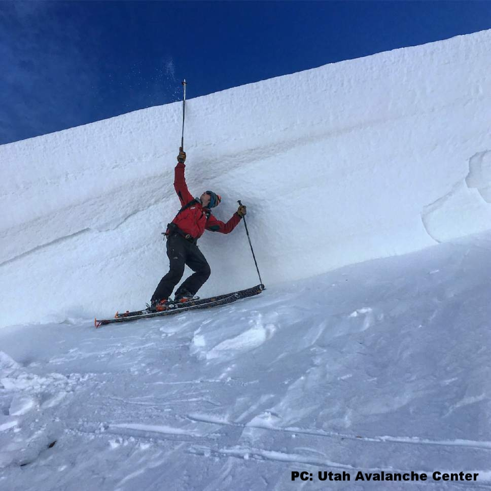 Click Here For a Link to the Accident Report from the Utah Avalanche Center
