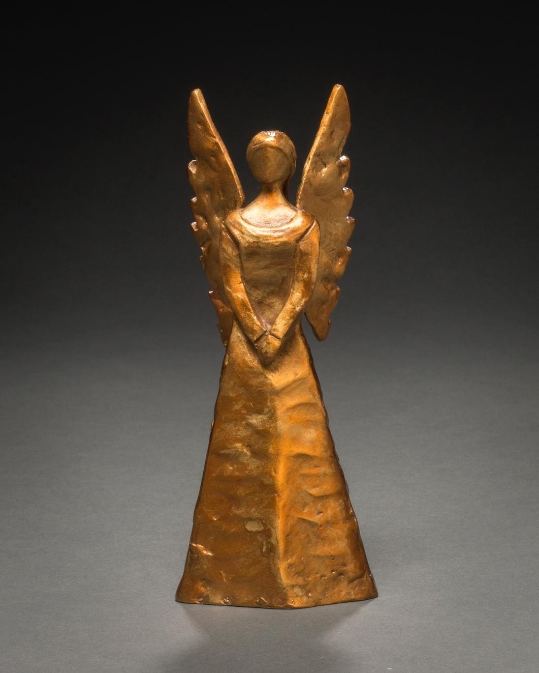 Contemplation   4 ''H x 2 ''D x 2 ''W Edition of 50, Bronze
