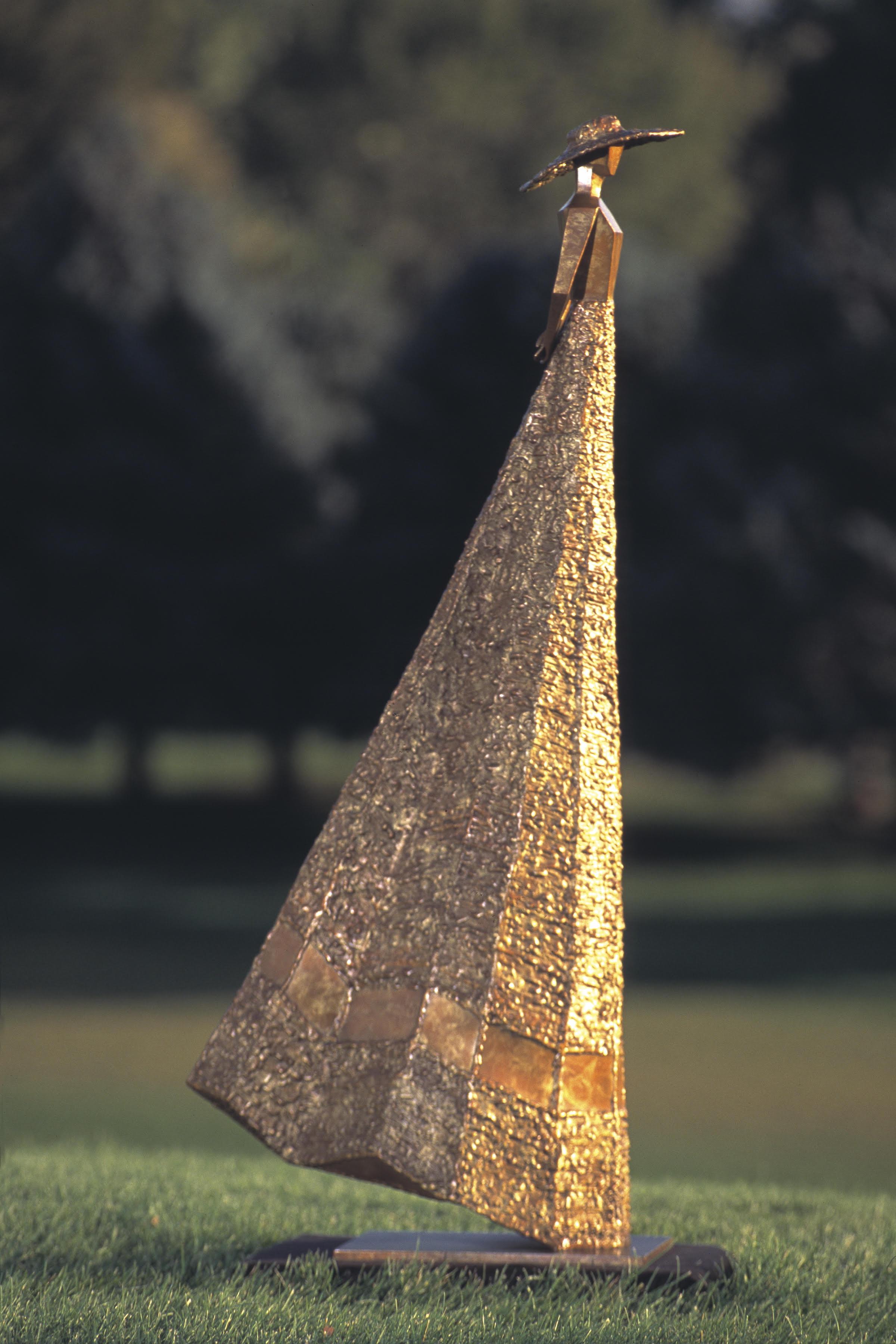 """La Jeune Femme   44"""" H x 19"""" W x 8"""" D Bronze edition of 25 *SOLD OUT"""
