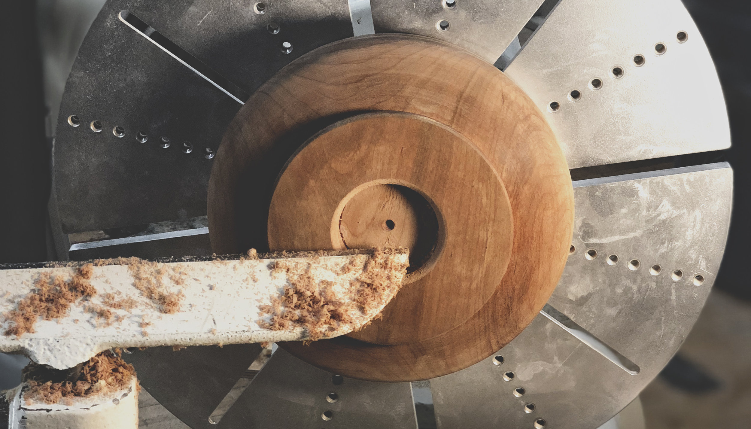 ↟↡ wooden bowls, 2017  - materials : rainbow poplar x spalted maple