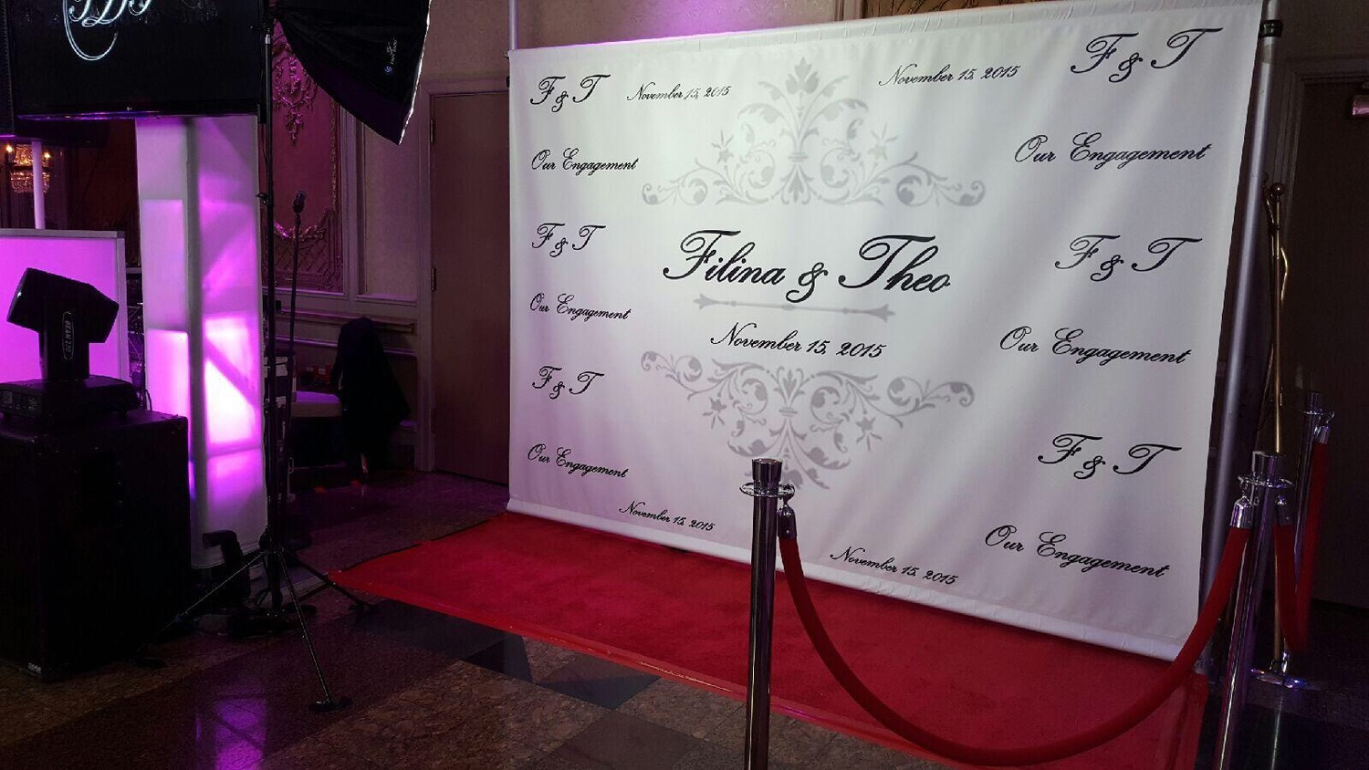 Custom Step and Repeat - $1000