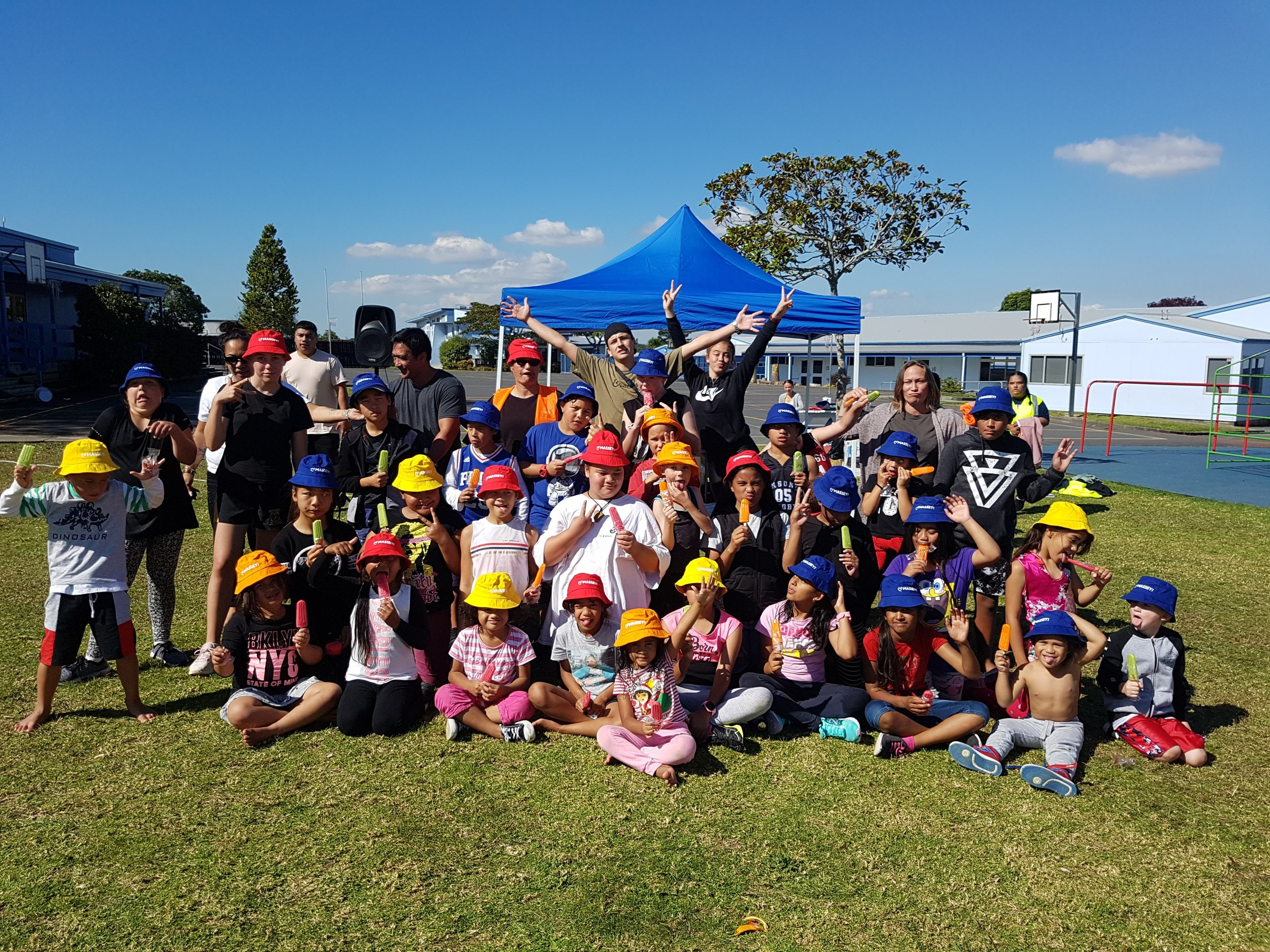 - Sports day done and dusted at Manutewhau Hub.