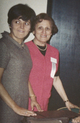 AWR Founders, Betty and Ruth.