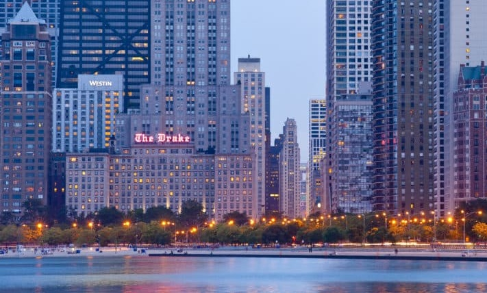 THE DRAKE HOTEL* - 140 East Walton Place Chicago, IL 60611(312) 787-2200 Map LinkTripAdvisor ReviewsCorporate ID: 2657613