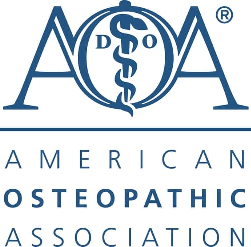 The AOA's mission is to advance the distinctive philosophy and practice of osteopathic medicine.  Serving as the professional family for more than 132,000 osteopathic physicians (DOs) and osteopathic medical students, the American Osteopathic Association (AOA) promotes public health and encourages scientific research. In addition to serving as the primary certifying body for DOs, the AOA is the accrediting agency for all osteopathic medical schools.