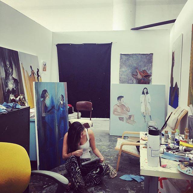 Studio life #artist #painting #art #studiotime