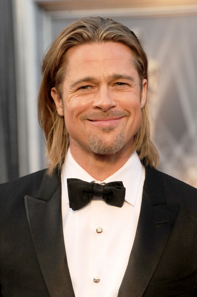 """BradPitt - Winemakers bow down, the king has entered the arena. While he entered the wine business pre-divorce, Pitt is actively living the role self-claiming, """"I'm a farmer now."""" I'll have a glass of wine with you anywhere any time."""