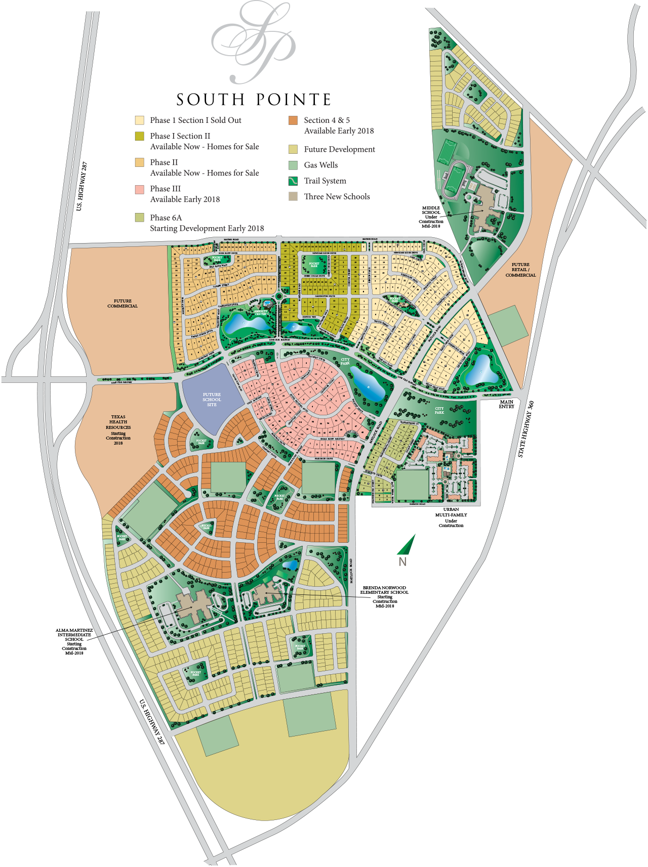 Master-Planned Community - Site Plan