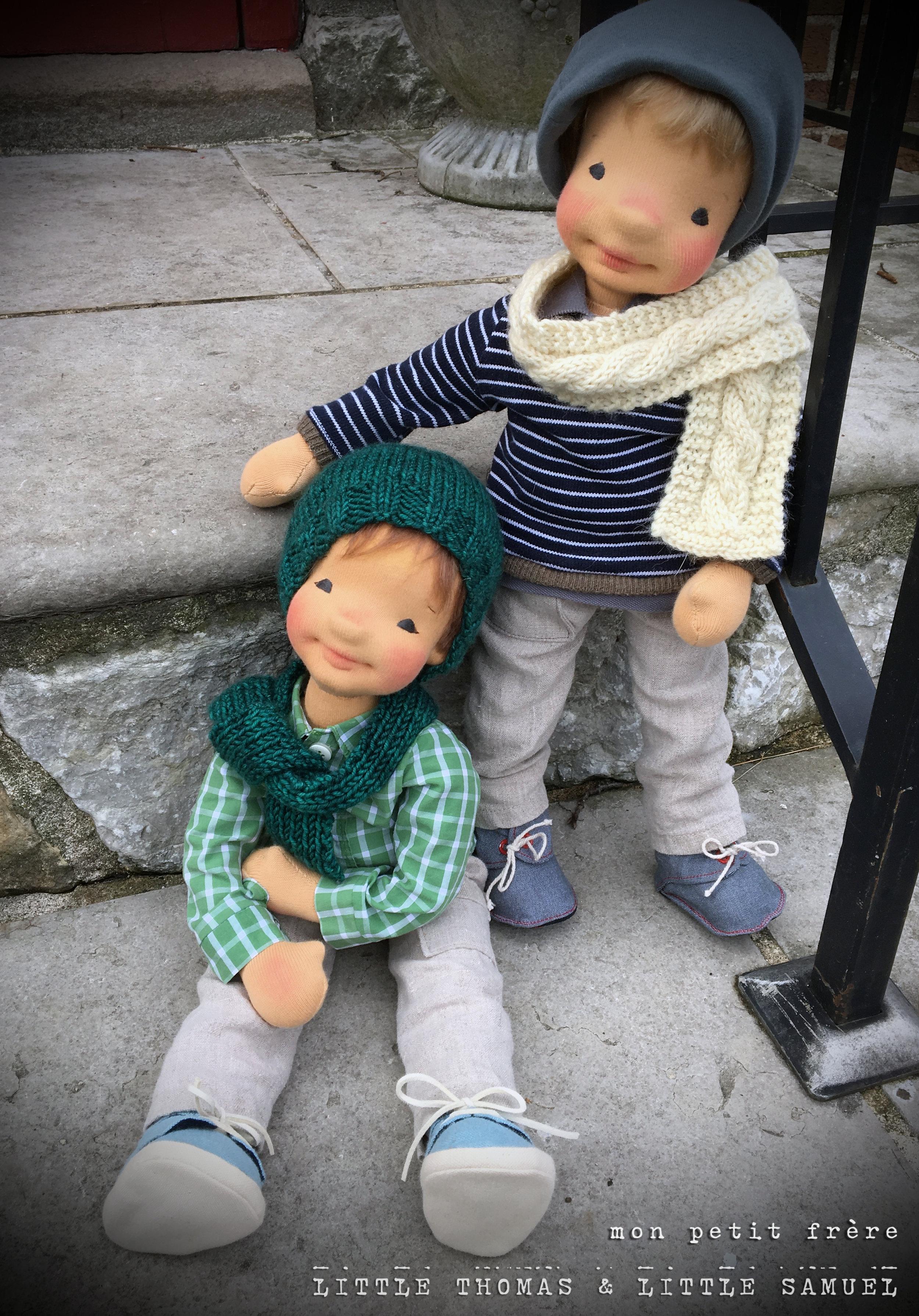 "Samuel and Thomas- 18"" 2017"