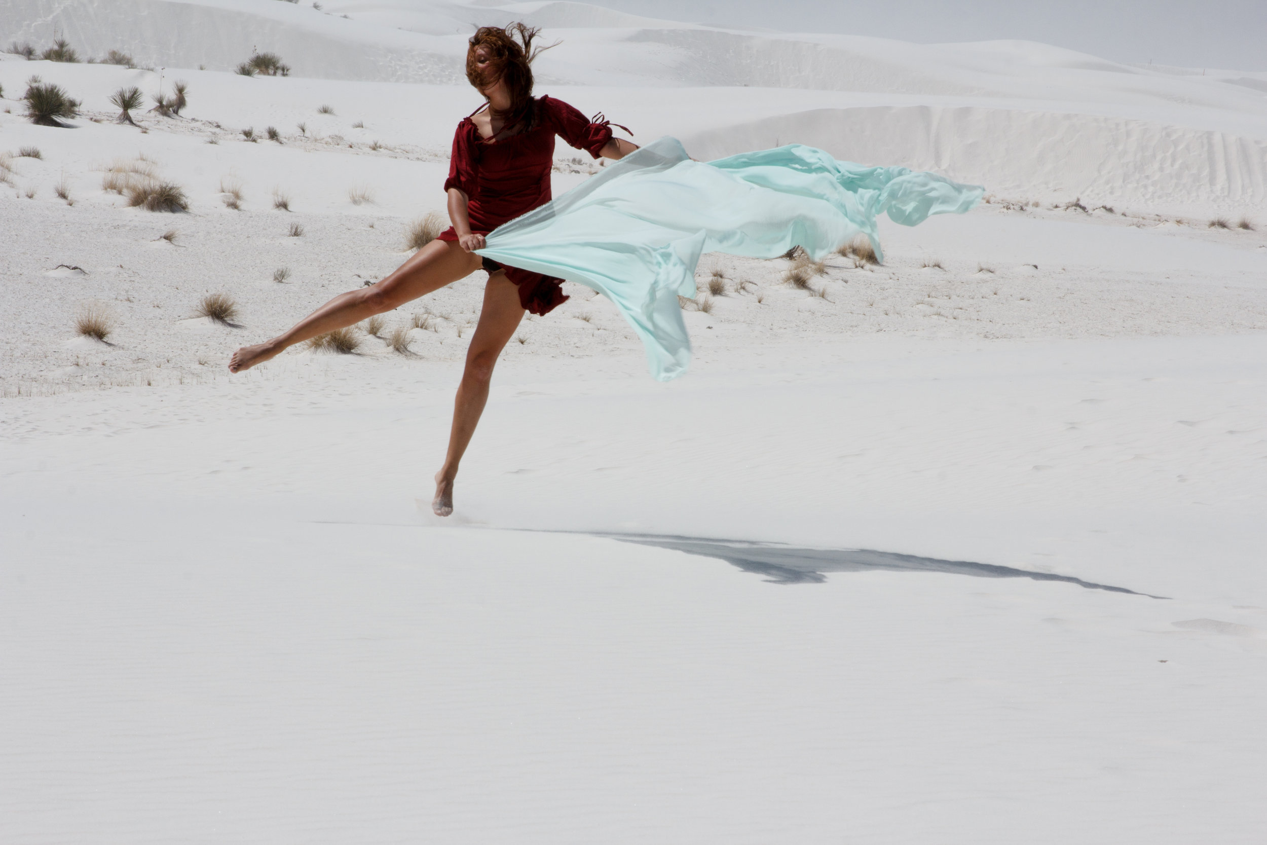 Dance the Desert Made March 2016, White Sands New Mexico