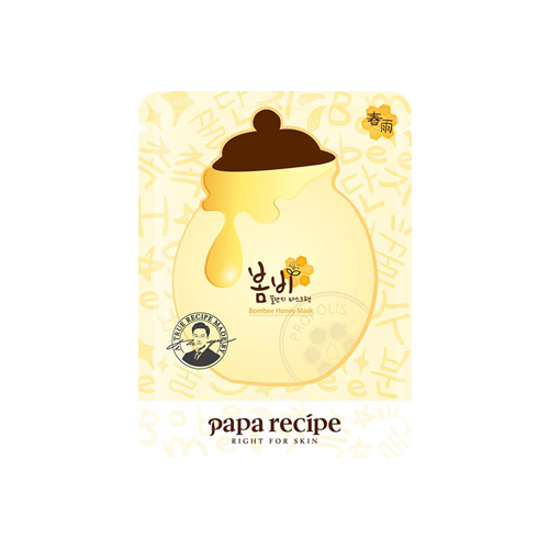 What is it?   The Papa Recipe Bombee Honey Mask contains a complex of organic honey and propolis extracts to replenish and hydrate skin, as well as protect from irritants.   How to use?   1. After cleansing, tone the skin.  2. Remove protective film and apply mask.  3. Leave on for 20 to 30 minutes.  4. Remove mask and pat any remaining essence into skin.