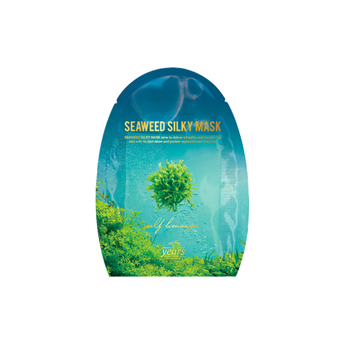 What is it?   The 23 Years Old Seaweed Silky Mask contains coptis japonica extract, algae extract and sea water to calm the skin, hydrate, as well as provide anti-aging benefits to the skin.   How to use?   1. After cleansing, tone the skin.  2. Apply mask.  3. Leave on for 10 to 20 minutes.  4. Remove mask and pat any remaining essence into skin.