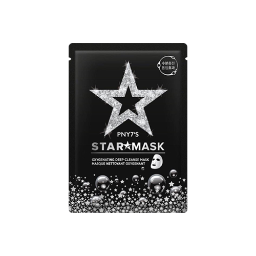 What is it?   The PNY7 Shining Star Sheet Mask contains l-cysteinem and deep sea pearl powder to brighten skin tone, as well as hyaluronic acid to moisturise the skin.   How to use?   1. After cleansing, tone the skin.  2. Apply mask.  3. Leave on for 15 to 20 minutes.  4. Remove mask and pat any remaining essence into skin.