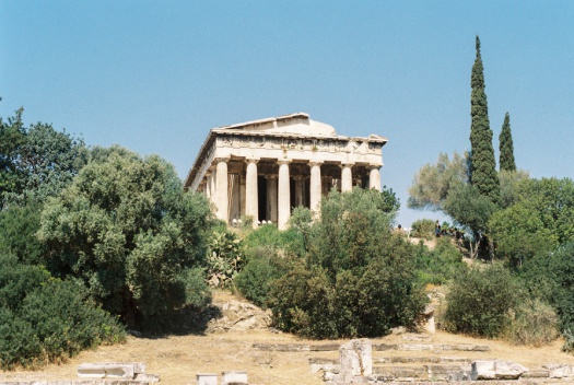 Temple of Hephaestus in Athens, Greece