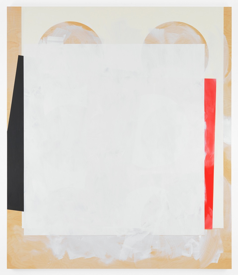 Composite 13 (wake), 2016  Acrylic and oil on wood  77 x 66 inches  195.6 x 167.6 cm
