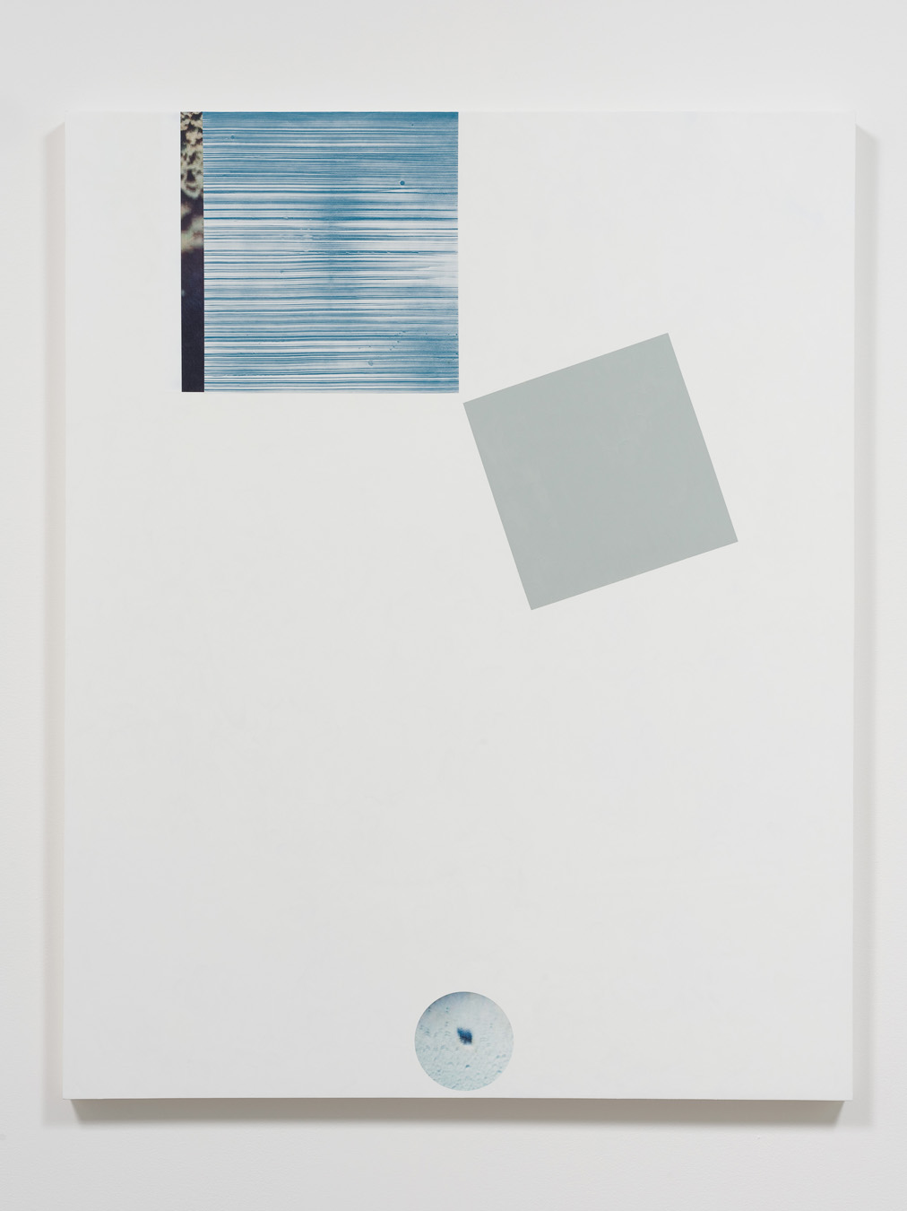 Salton Sea (ground), 2012  Acrylic, oil and UV cured ink on canvas over panel  60 x 48 inches  152.4 x 121.92 cm
