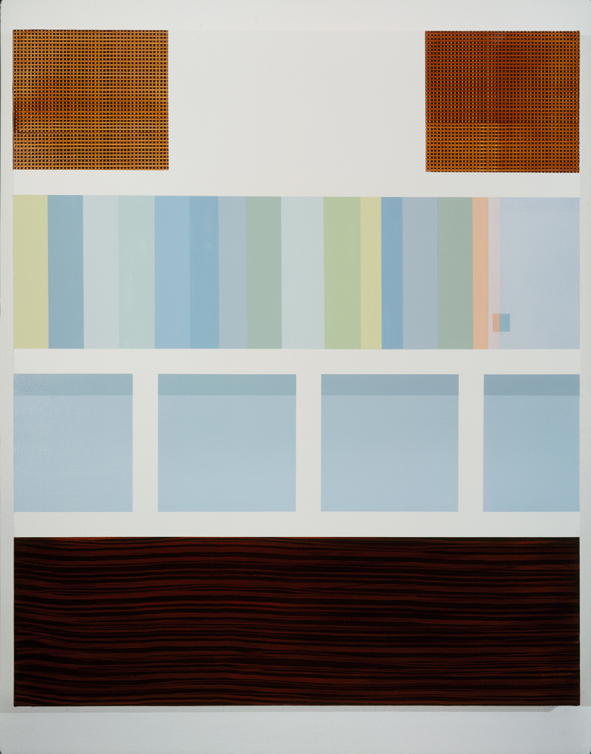Custom Unit (Speaker/Glass), 1997  Oil and acrylic on canvas over panel  48 x 40 inches  121.92 x 101.6 cm
