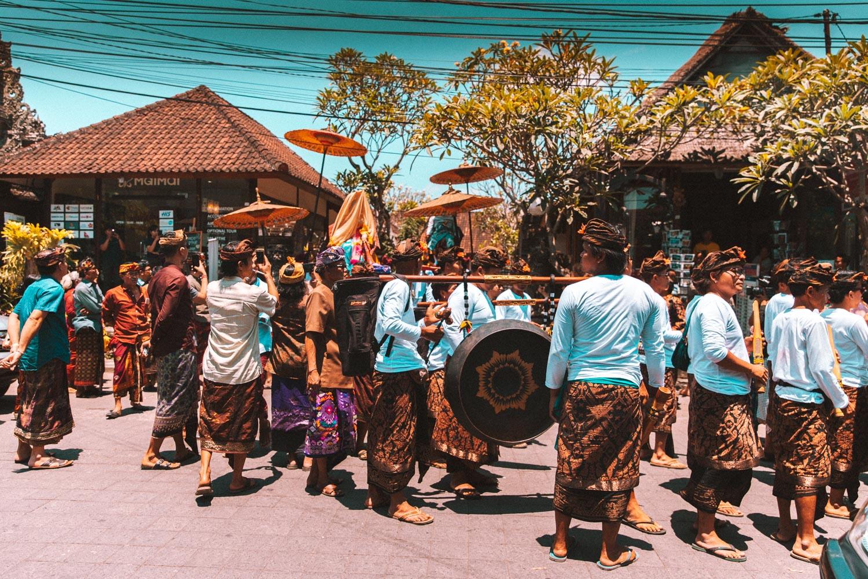 Matrimonio nel centro di Ubud