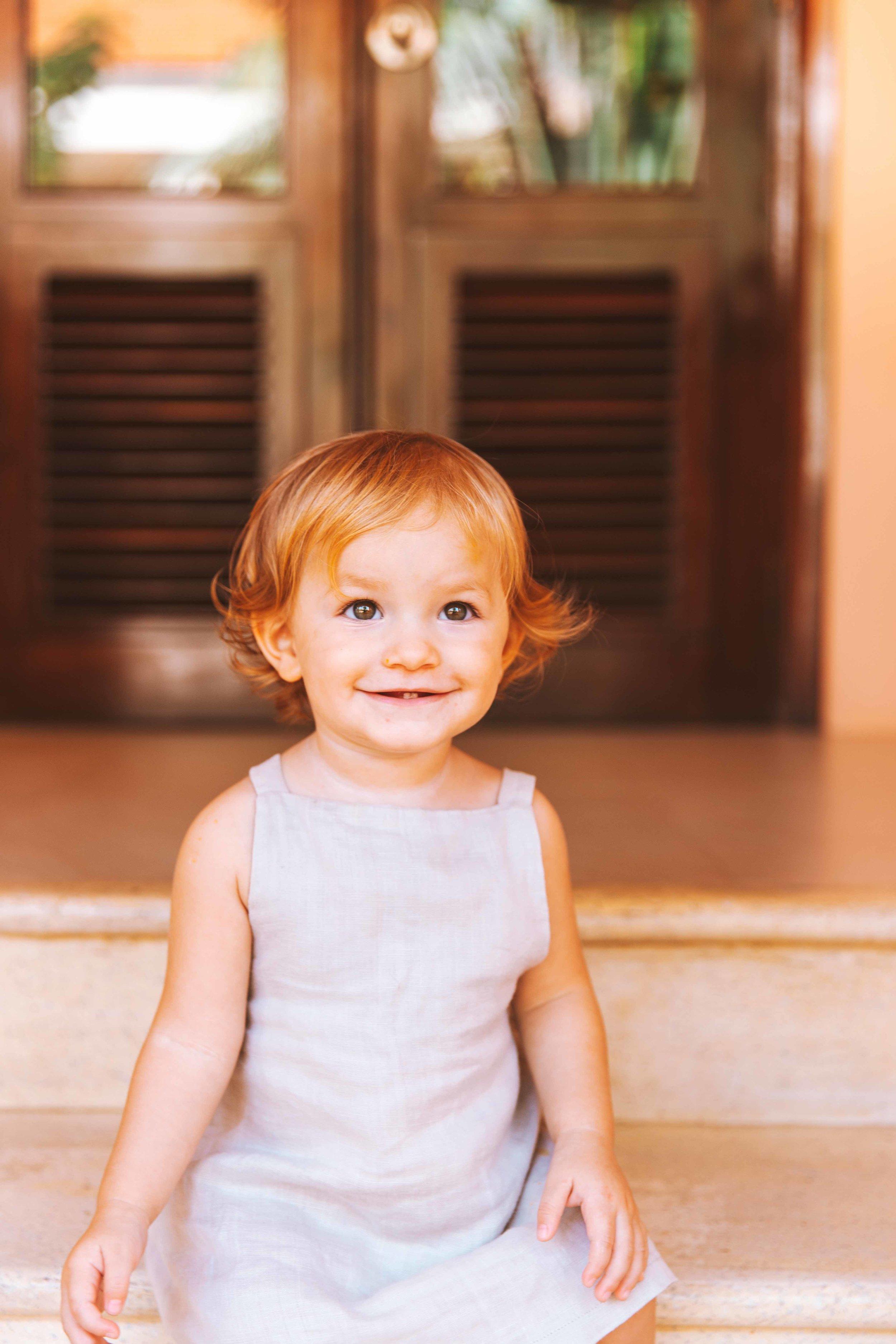 Lietta Miljian, 1 anno e due mesi di età.