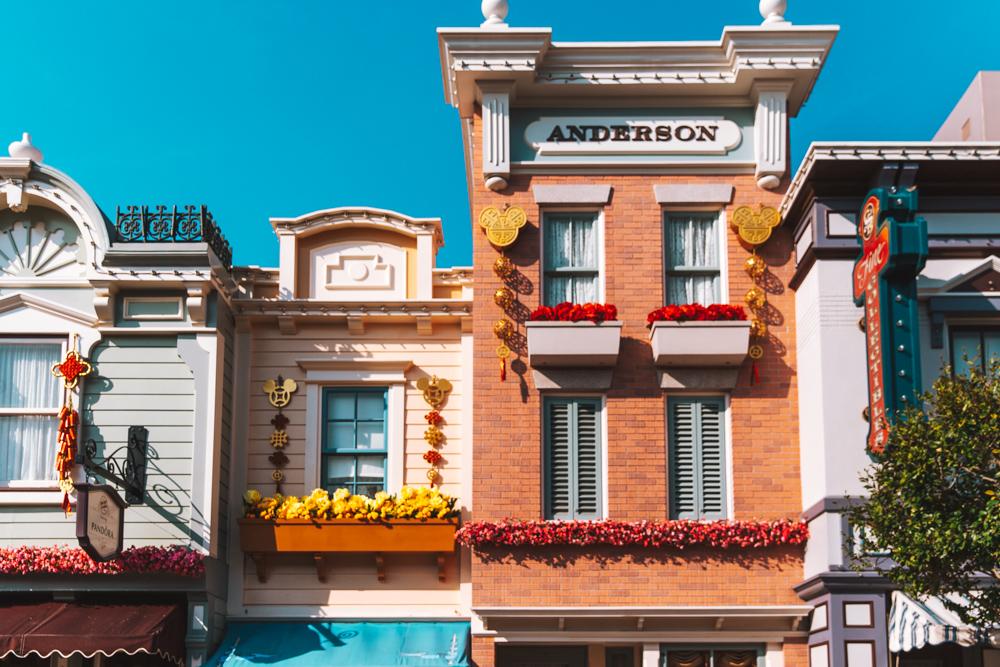 Le case magiche di Main Street.