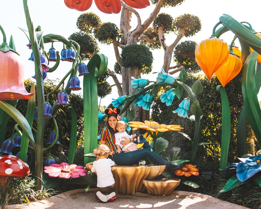 Nella Fairy Tales Forest. Dove i fiori sono più alti delle principesse. E dove ci sono la Sirenetta, Cenerentola, e la Bella Addormentata.