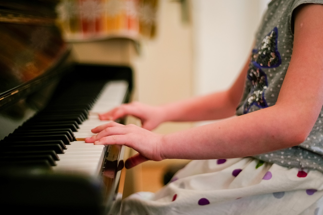 Learning to play the piano is just one of the many options we have for your child.