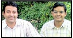 Lekh Joshi and Sunil Maheshwari