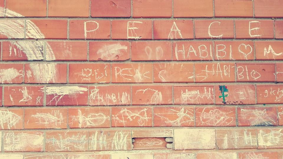 Writing on the wall at Sindos Karamanlis