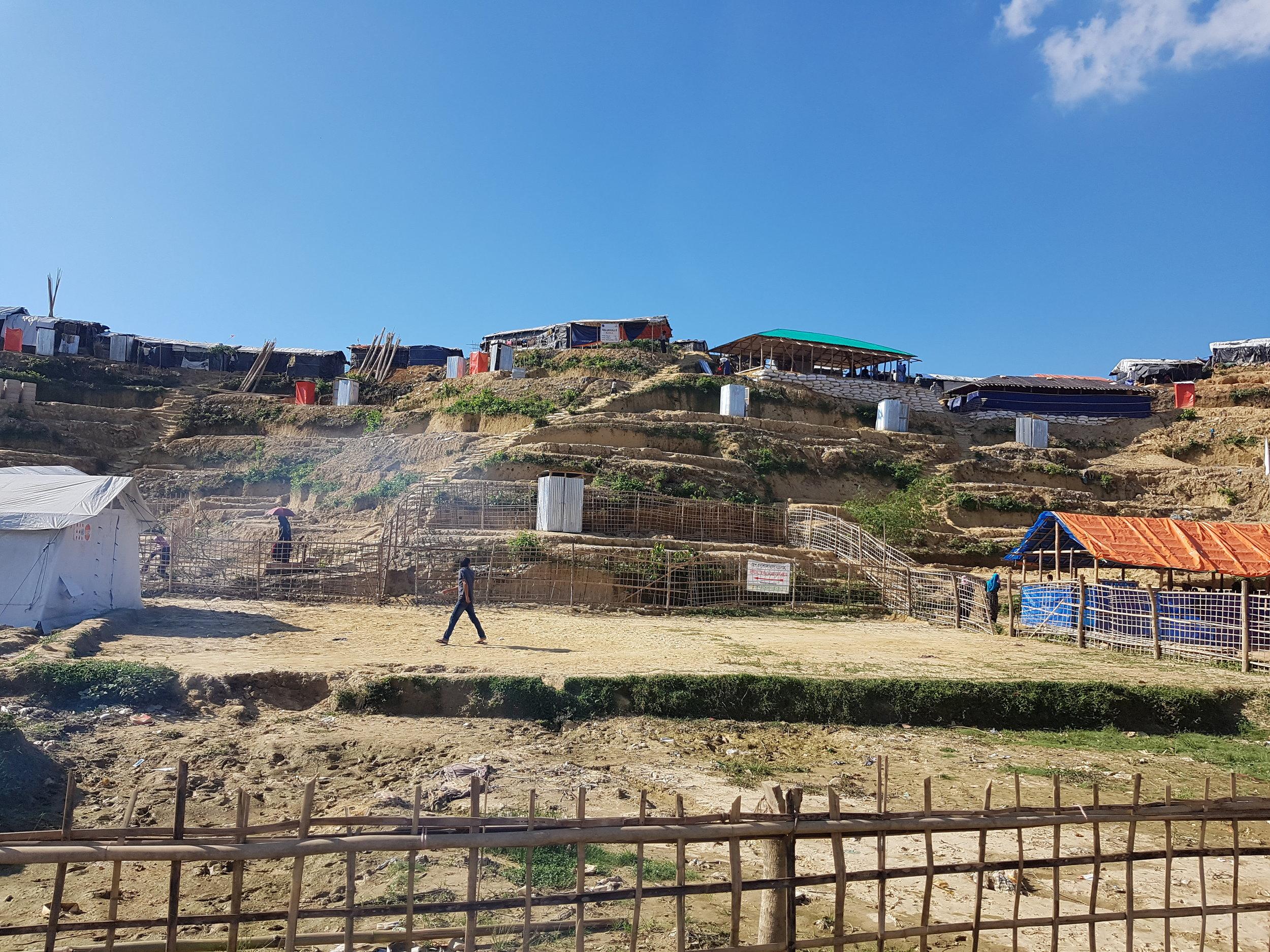 Kutupalong Refugee Camp, Bangladesh.