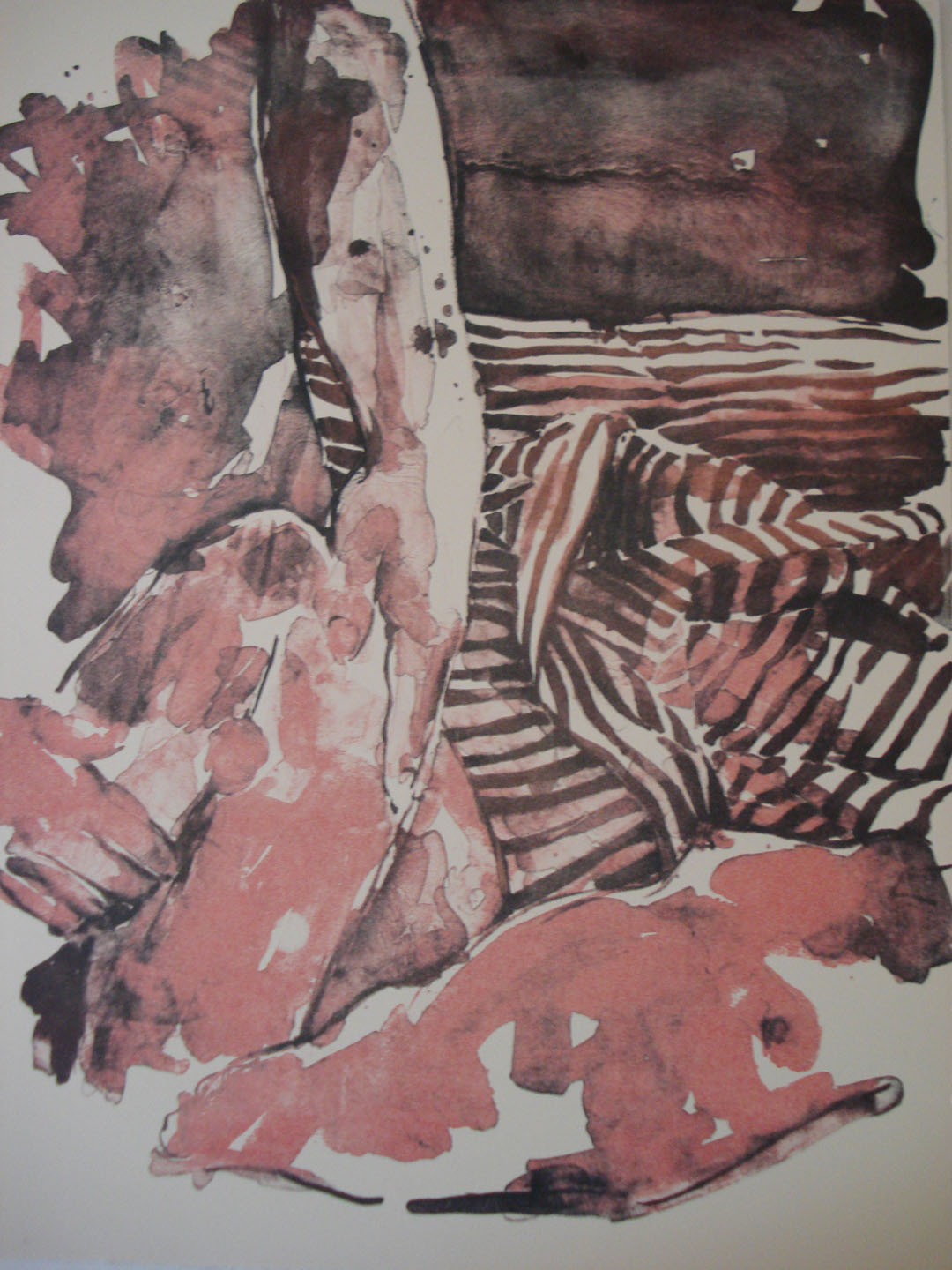 Penal Code 269 a and b #2;2007    Reductive Stone Lithograph, 18 x 15 in