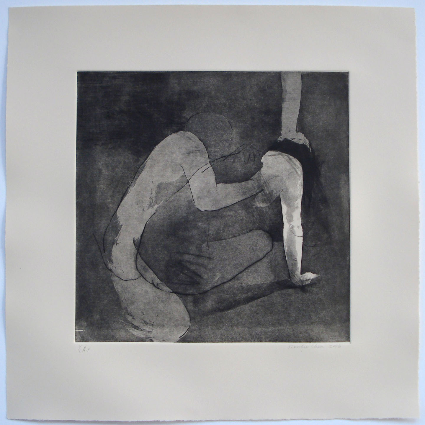 Untitled;2006    Etching, 18 x 18 in