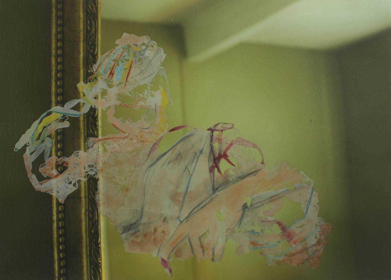 "Untitled (Prime Court_April 2 _#3); 2014    Monoseriograph on digital print, 22x30"""