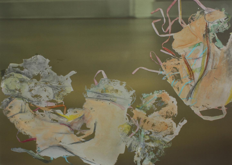 "Untitled (Prime Court_April 2 _#2); 2014    Monoseriograph on digital print, 22x30"""