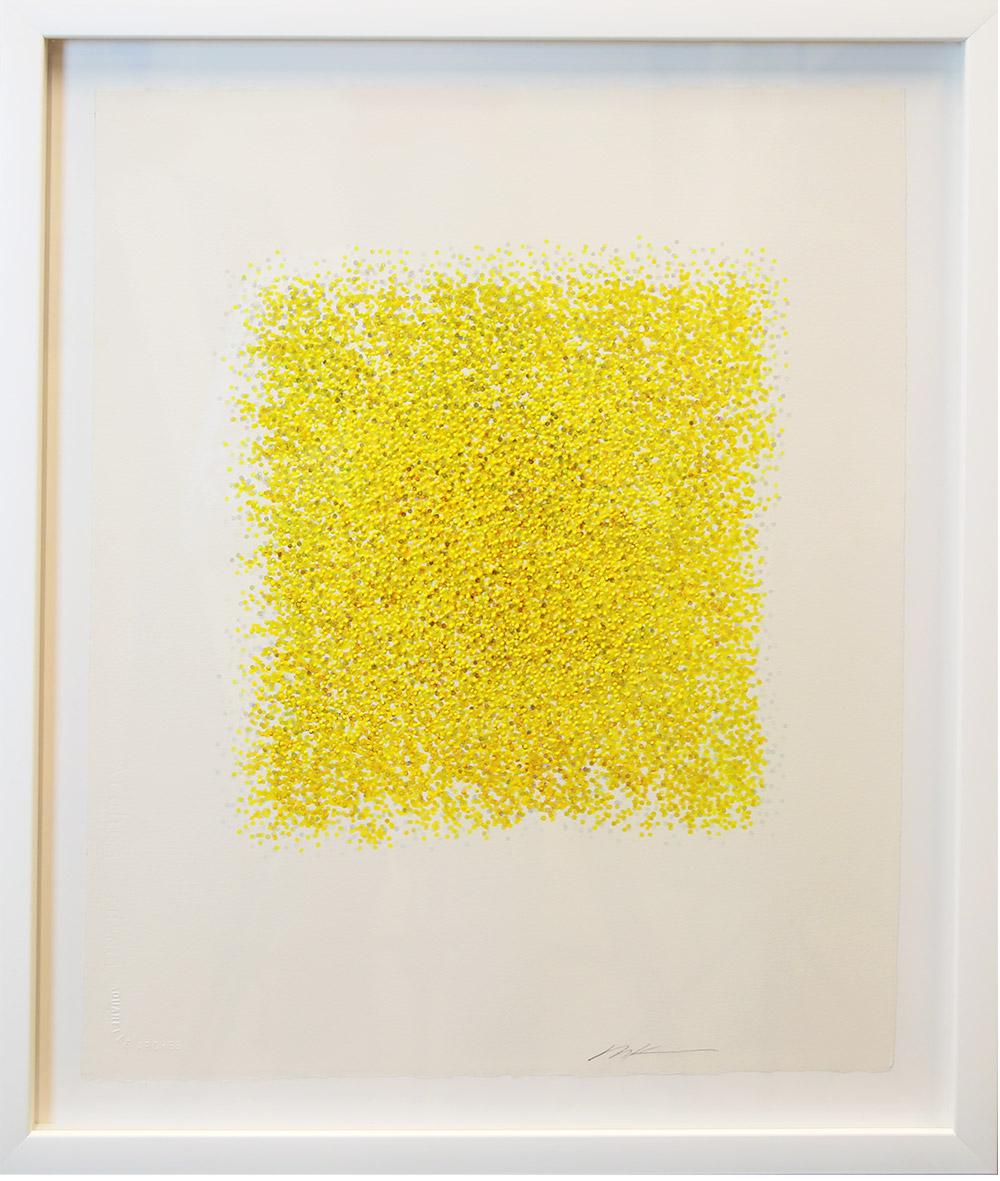 Radiance   Masako Kamiya Gouache on Paper 24x20 inches
