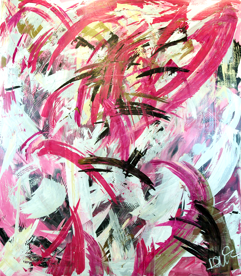Plutonium (Pu)   Danielle du Toit Stretched Canvas Acrylic 72x60 inches