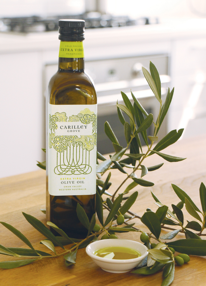Carilley Estate Swan Valley Olive Oil Design
