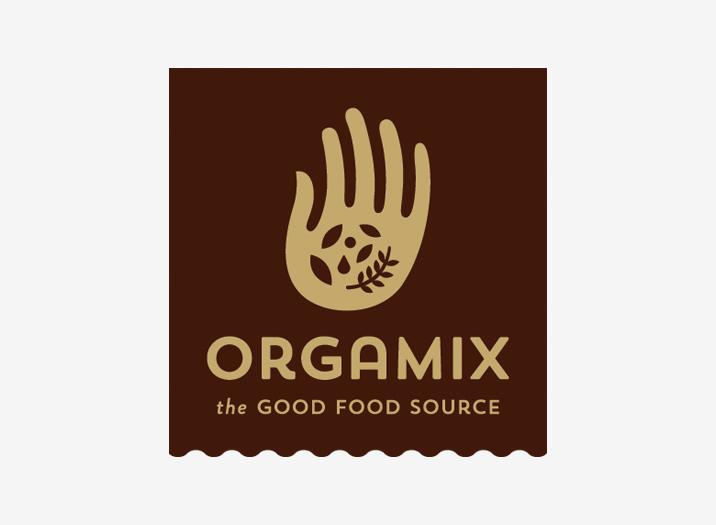 Orgamix logo brand design