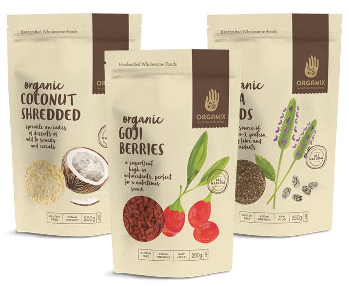 Orgamix Food Packaging
