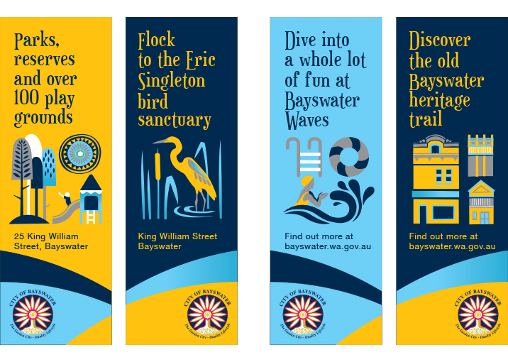 Maylands Street Banner Design