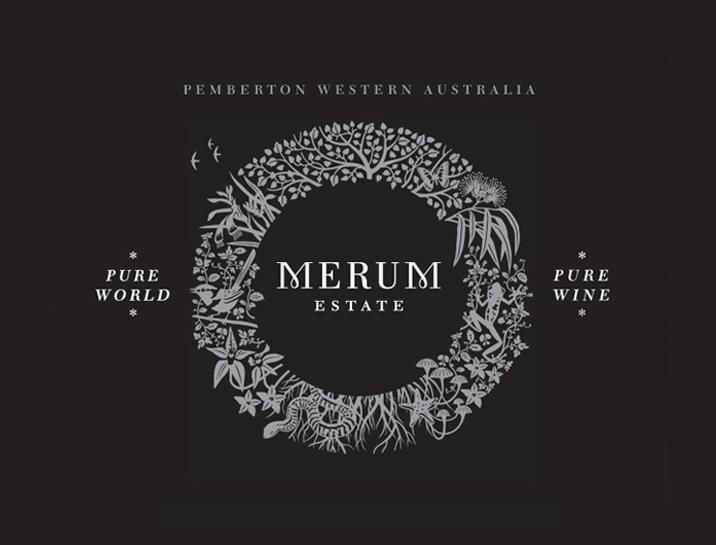 Merum Estate Wine Brand Design