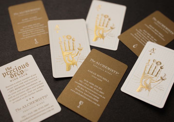 The Alchemists Business Card Design