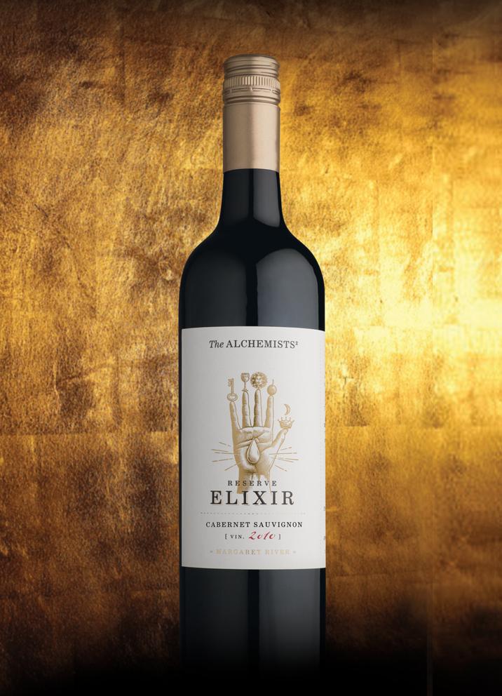 The Alchemists Premium Wine Label Design