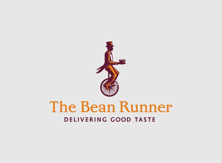 The Bean Runner logo design