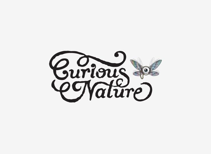 Curious Nature logo design