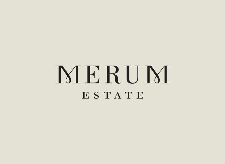 Merum Estate logo design