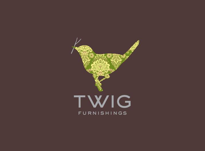 Twig Interiors logo design