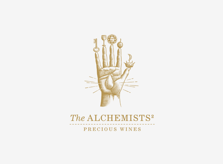 The Alchemists logo design